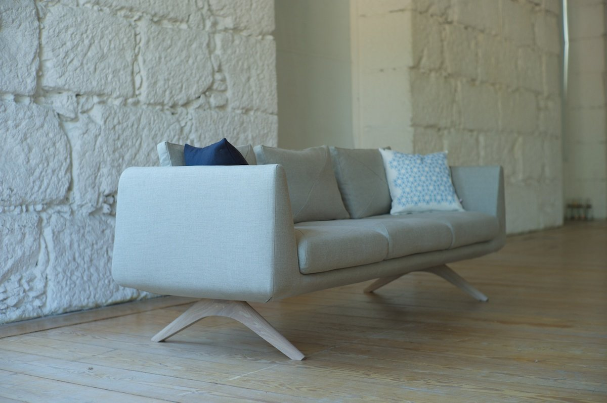 Hepburn Sofa by Matthew Hilton