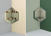 Hex mirrors from L&G Studio
