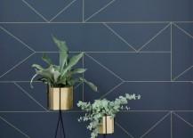 Hexagon pots from ferm LIVING