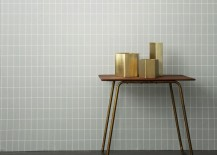 Hexagonal vase and planters from ferm LIVING