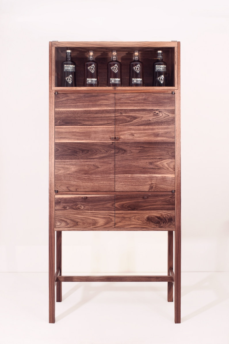 Highland Park drinks cabinet