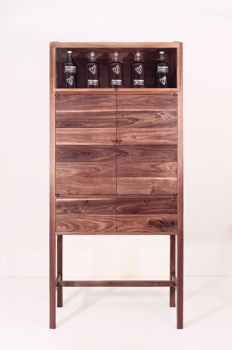 Highland Park drinks cabinet