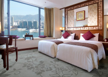 Hotel Room with Traditional Chinese Decor