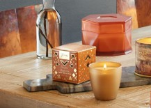 Illume candles in the Pumpkin Peppercorn fragrance 217x155 Illuminate Autumn with High End Candles