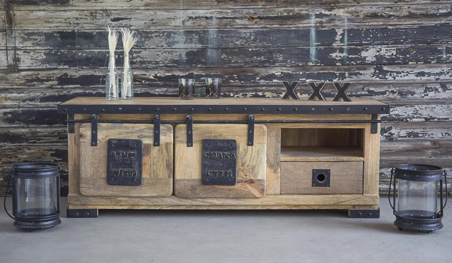 Industrial TV stand from BARAK 7