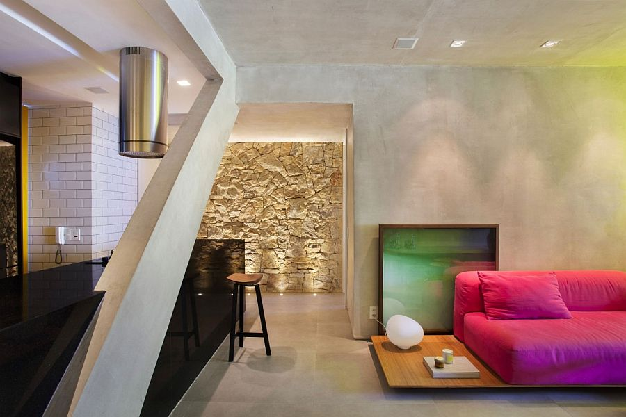 Industrial modern apartment design of MM House