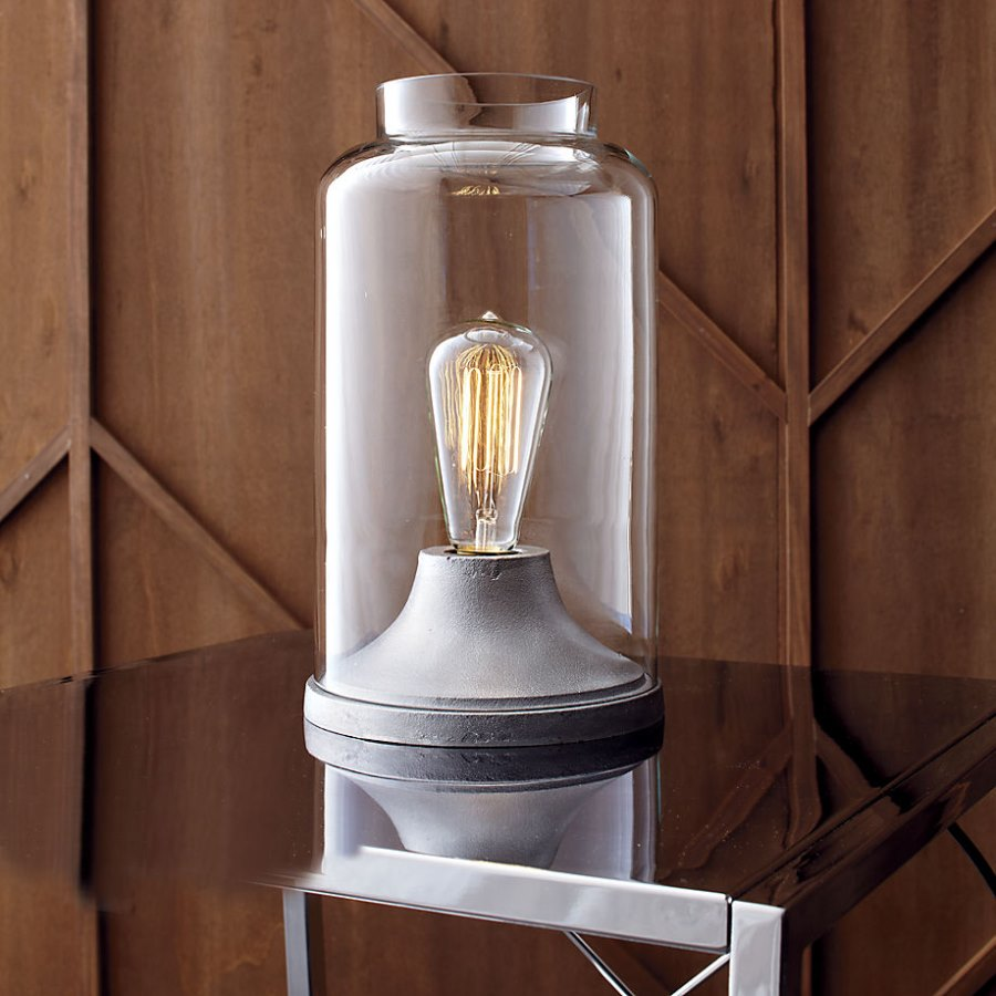 Industrial table lamp from CB2