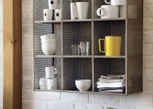 Industrial wall shelf from CB2