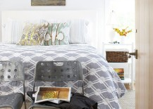 Ingenious bedroom design combines worn-out vintage finds with industrial flair [Design: Moger Mehrhof Architects]