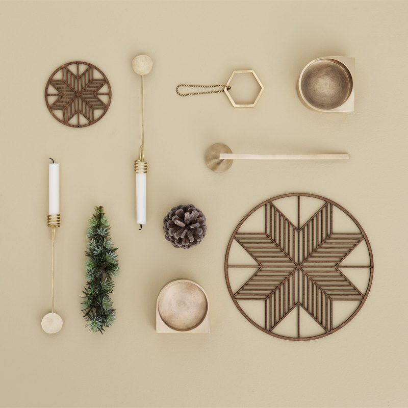 Items from the ferm LIVING Christmas Collection 2015