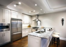 Kitchen-with-octagonal-recessed-ceilings-217x155