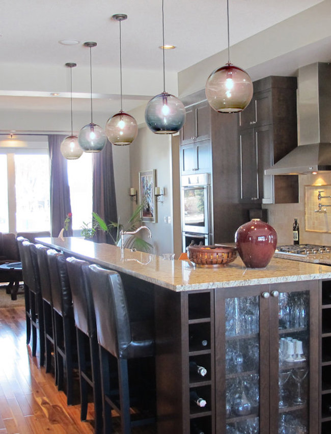 15 blown glass pendant lighting ideas for a modern and Modern kitchen pendant lighting ideas
