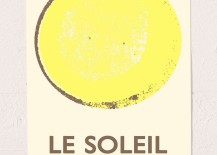 Le Soleil art print 217x155 Modern Style Meets the Stars, Sun and Moon