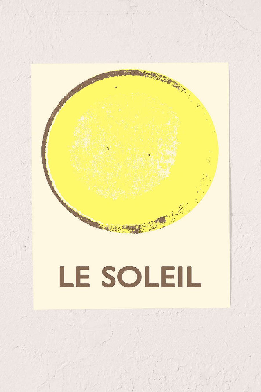 Le Soleil art print