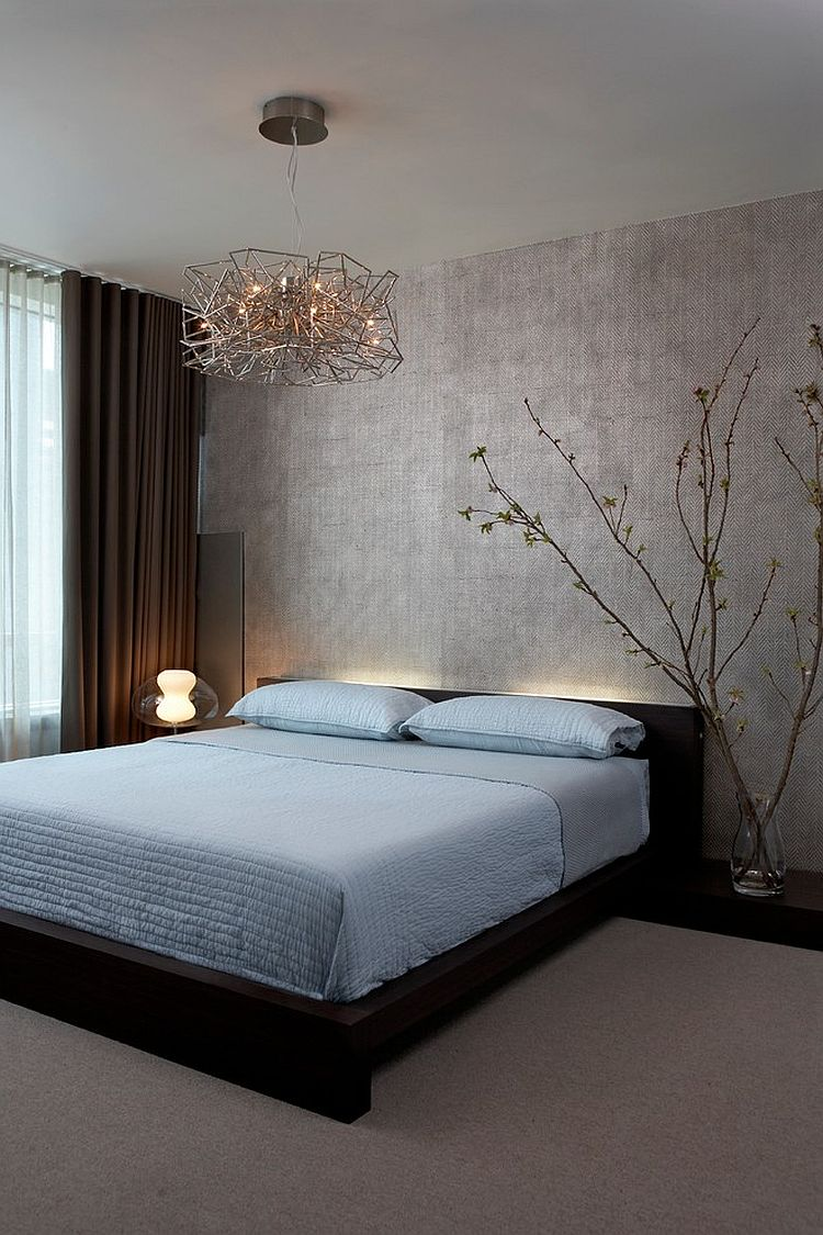 lighting and minimalism give this contemporary bedroom a zen inspired look design mia - Zen Colors For Bedroom