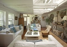 Living room inspired by the sea