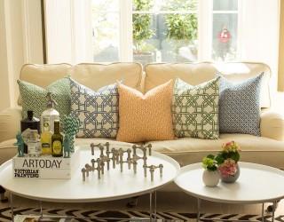 Refined Indulgence: The Latest Array of Geometric Cushions from Nina Kullberg