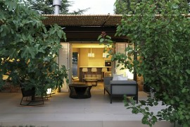 Lovely Guest House combines classic Spanish elements with energy-savvy modern upgrades  Wicker and Metal Pergola Transforms Mountain Guest House in Barcelona Lovely Guest House combines classic Spanish elements with energy savvy modern upgrades 270x180