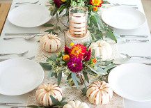 Lovely fall tablescape from Homey Oh My!