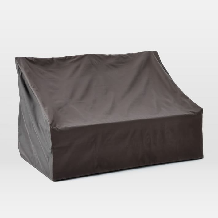 Loveseat patio furniture cover from West Elm