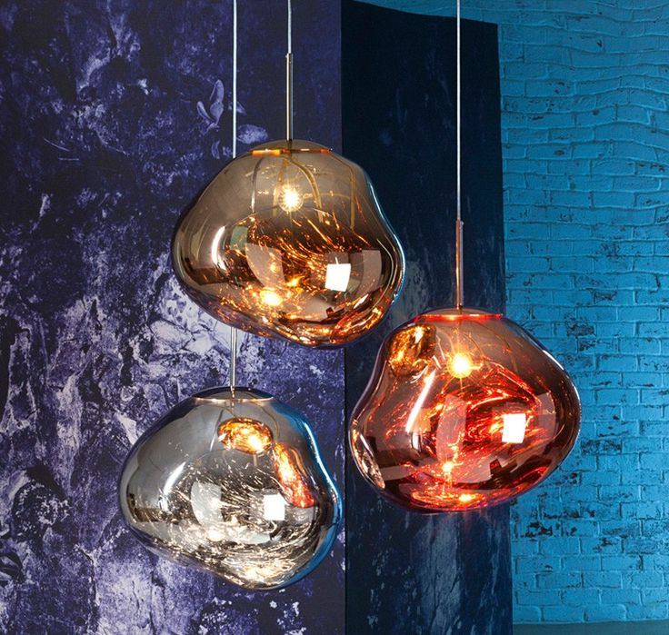 15 blown glass pendant lighting ideas for a modern and sleek glow view in gallery melt lamps by tom dixon mozeypictures Choice Image