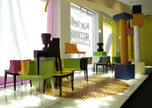 Mademoiselle armchairs by Philippe Starck