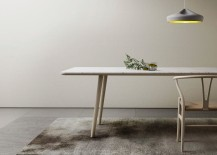 Marble and oak dining table from Retegui 217x155 20 High End Dining Tables