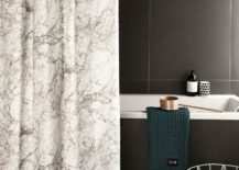 Marble luxury shower curtain - ferm LIVING