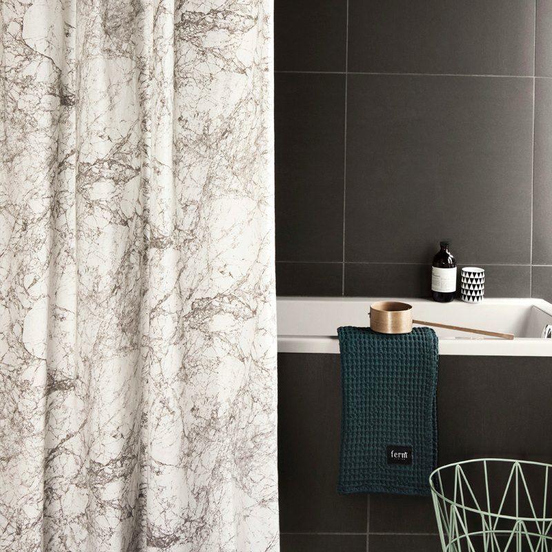 Marble shower curtain – ferm LIVING