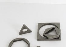 Metal objects from Table of Contents Studio 217x155 Design Trend: Geo Objects