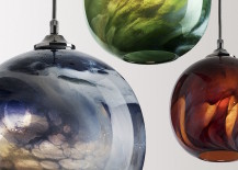 Mineral pendants by Rothschild & Bickers