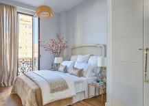Modern design touches coupled with shabby chic style [Design: Masfotogenica Interiorismo]