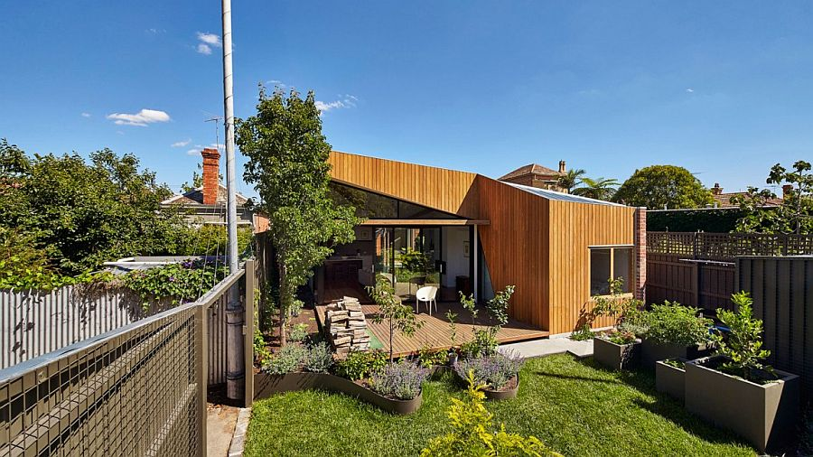Modern home addition in timber Modern Timber and Glass Extension Revamps Elegant Aussie Home