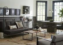 Modern-interior-with-grey-wainscotting-217x155