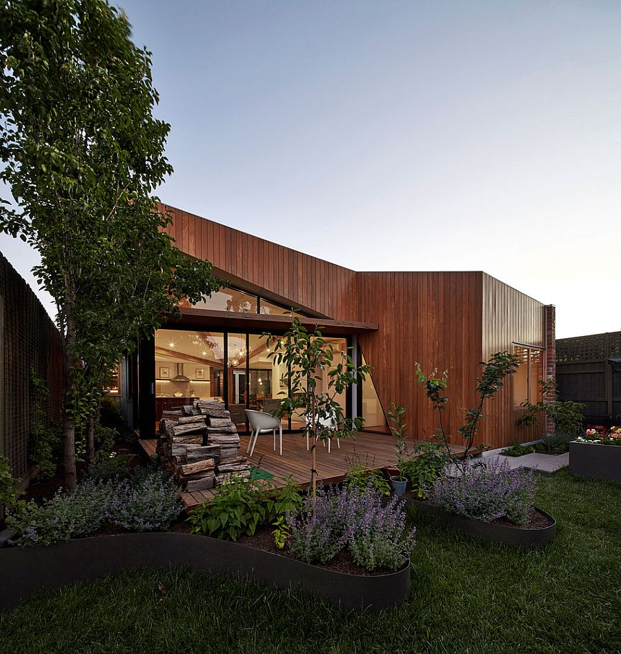 Modern rear extension brings in ample natural light and visual connectivity with the outdoors