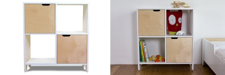 Modern shelving from Spot on Square