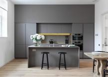 Modulnova Twenty Kitchen in gorgeous gray [Design: DesignSpace London]