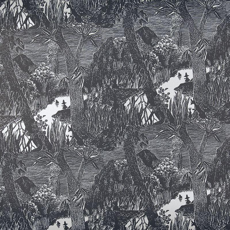 Moomin wallpaper Moominvalley by Sandudd