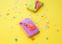 Neon cookies from Mirror80