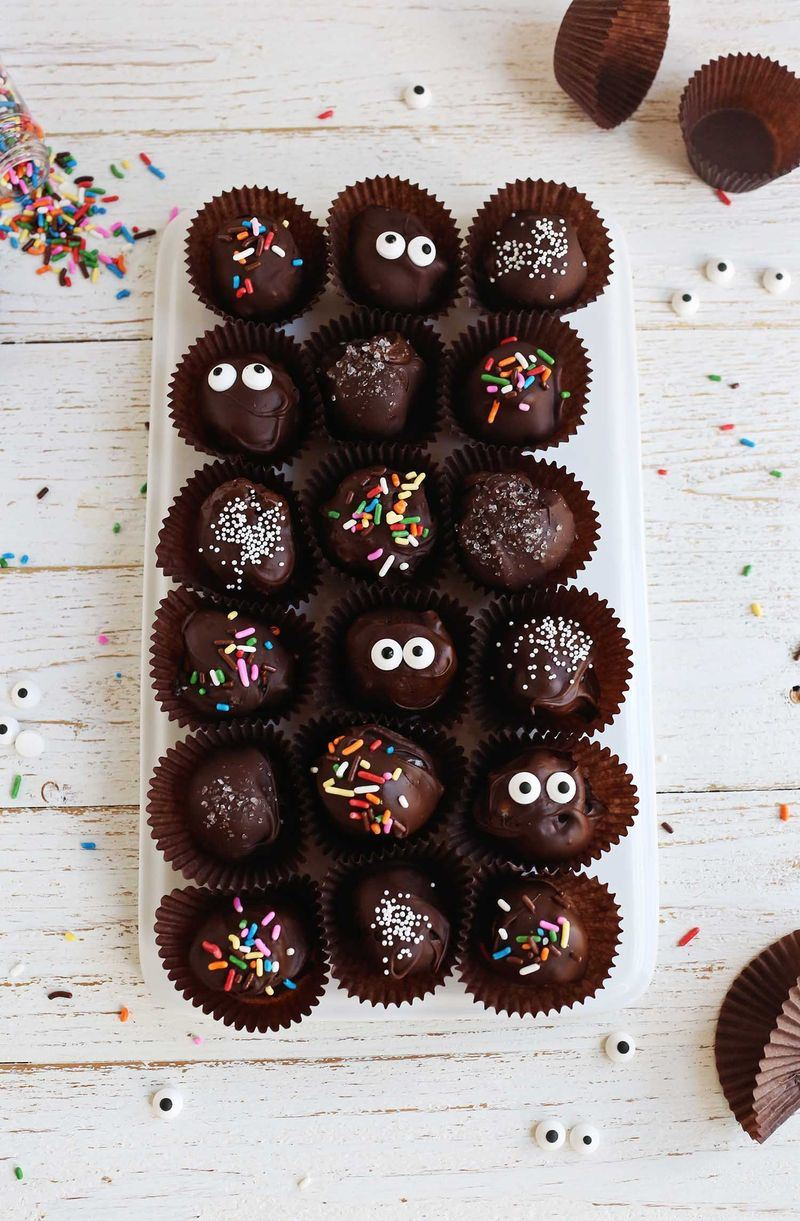 No-bake truffles from A Beautiful Mess