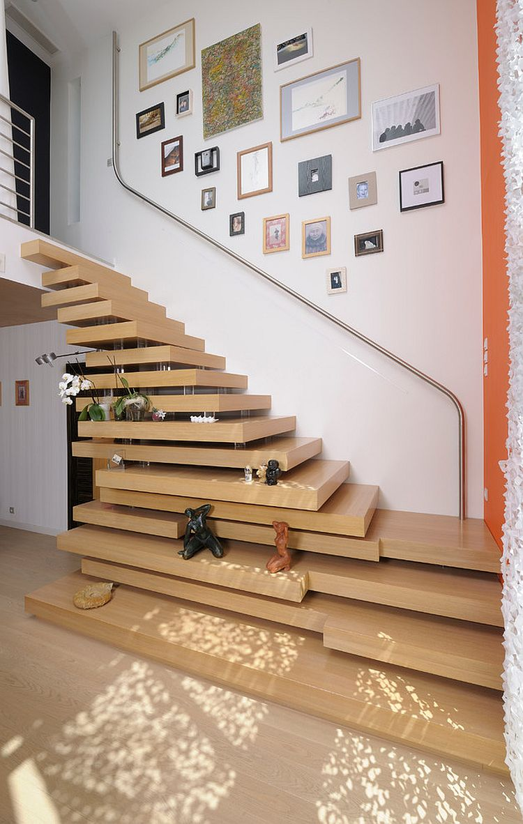 Out-of-the-box design for the modern staircase [Design: Studio SD]