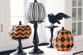 Easy and Chic Ways to Dress Up Your Pumpkins for Halloween