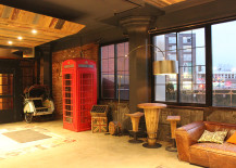 Paper Factory Hotel Rustic Touches and Phone Booth