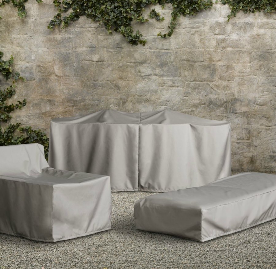 View in gallery Patio furniture covers from Restoration Hardware - Patio Furniture Covers For Protecting Your Outdoor Space