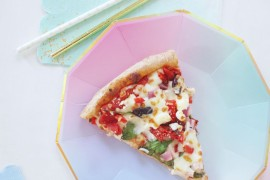 Pizza party from Random Acts of Pastel 20 Last-Minute Halloween Ideas with Modern Flair 20 Last-Minute Halloween Ideas with Modern Flair Pizza party from Random Acts of Pastel 270x180
