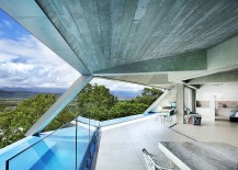Pod-like design of the home makes the best of the view on offer without taking up too much space