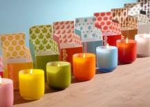 Pop candles from Jonathan Adler