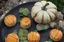 Pumpkin macarons from Camille Styles 20 Last-Minute Halloween Ideas with Modern Flair 20 Last-Minute Halloween Ideas with Modern Flair Pumpkin macarons from Camille Styles 270x180