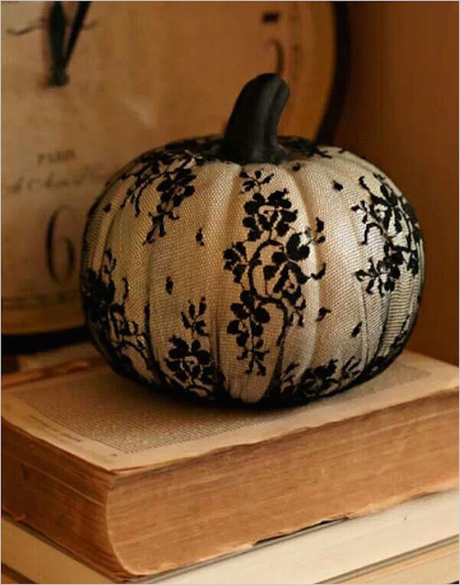 8 easy and chic ways to dress up your pumpkins for halloween White pumpkin carving ideas