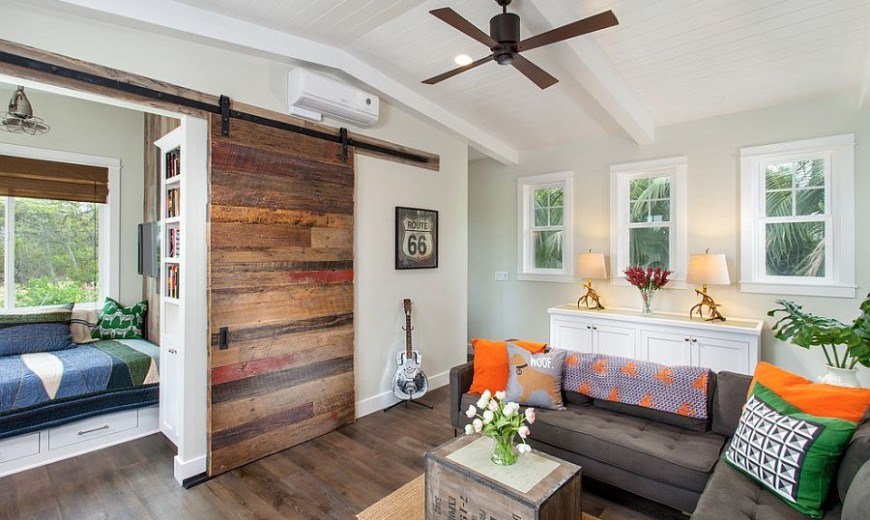 25 Ingenious Meeting Rooms That Showcase the Beauty of Sliding Barn Doors